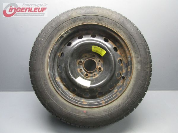citroen xsara picasso pneu de rechange roue secours compl te jante en acier ebay. Black Bedroom Furniture Sets. Home Design Ideas