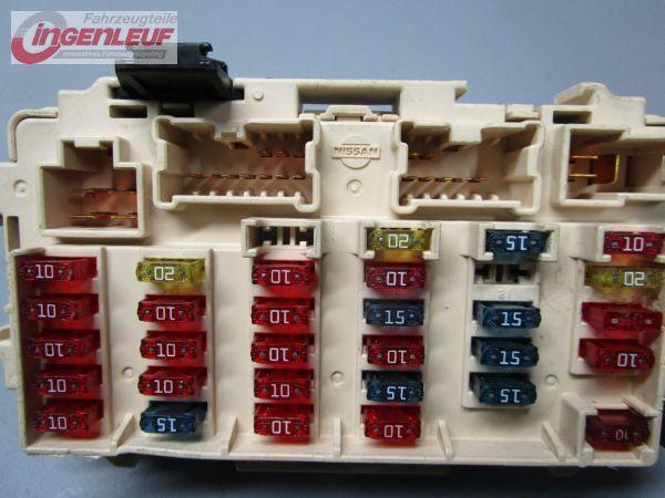 39652_2 fuse box relay nissan x trail (t30) 2 2 dci 4x4 ebay nissan x trail t30 fuse box diagram at gsmx.co