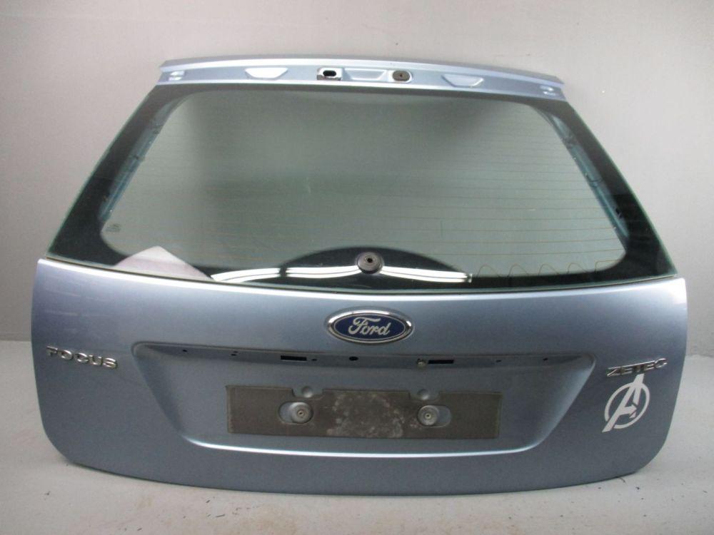 heckklappe 3dtc kristall blau metallic ford focus ii da. Black Bedroom Furniture Sets. Home Design Ideas