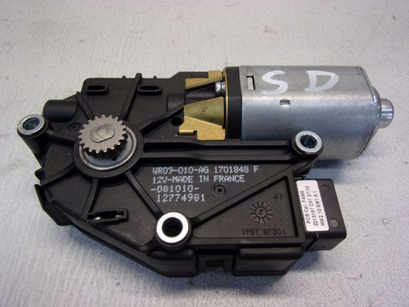 Motor Schiebedach PanoramaschiebedachRENAULT CLIO III GT (KR0/1_) 09-13