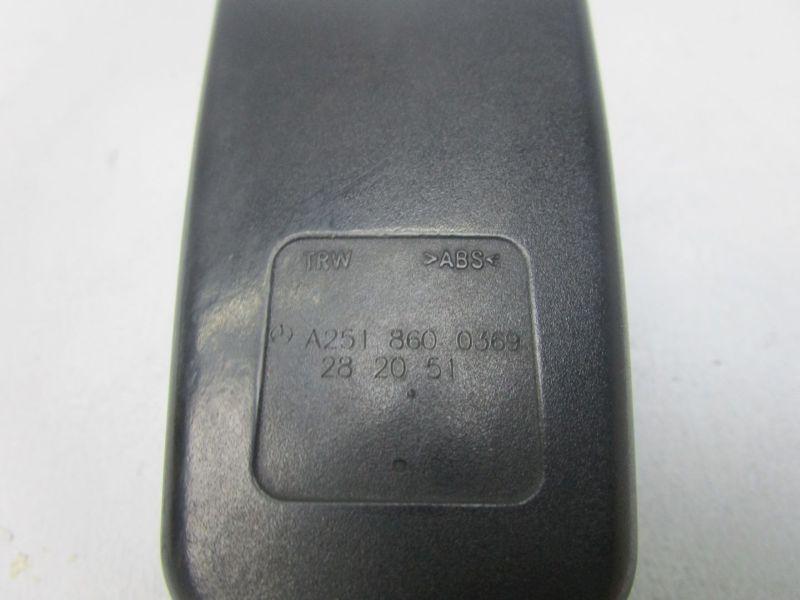 Gurtschloss links vorn MERCEDES M-KLASSE (W164) ML