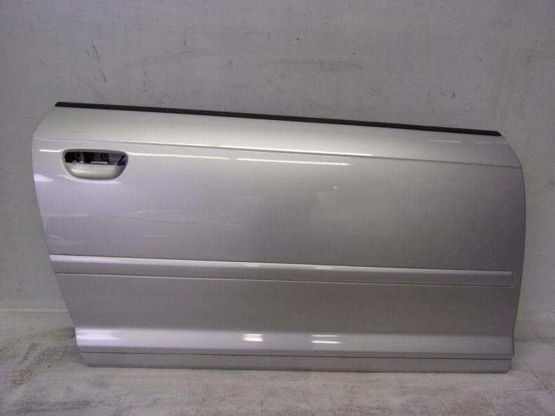 Tür Türe rechts LY7W Lichtsilber MetallicAUDI A3 (8P1) 1.6