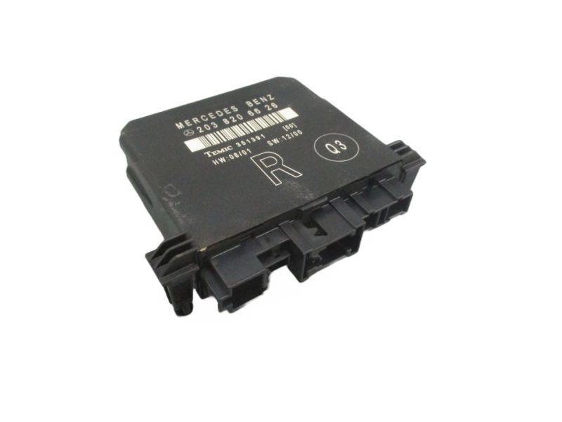 Steuergerät Tür hinten rechtsMERCEDES-BENZ C-KLASSE (W203) C 200 CDI