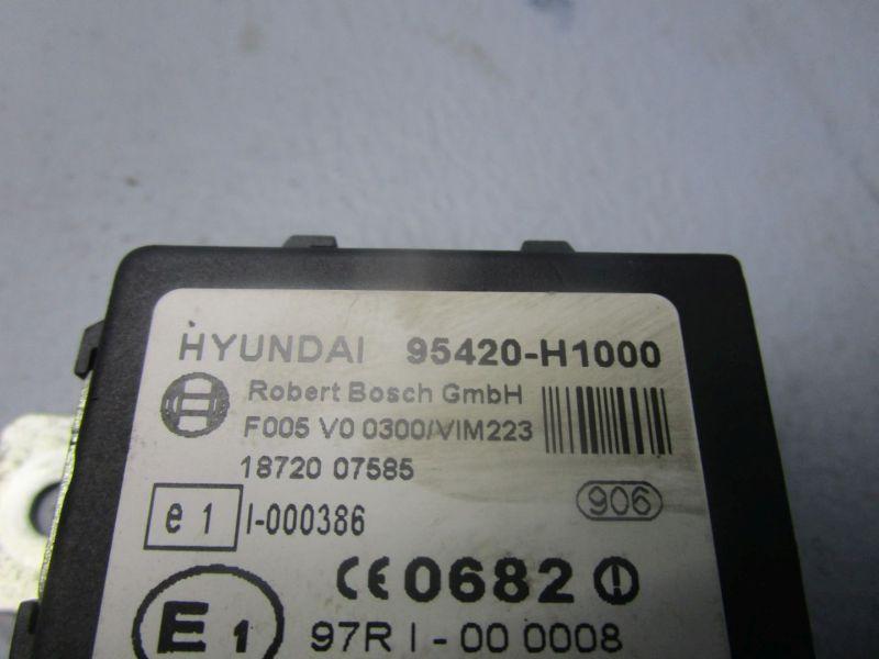 Steuergerät ImmobilizerHYUNDAI TERRACAN (HP) 2.9 CRDI 4WD