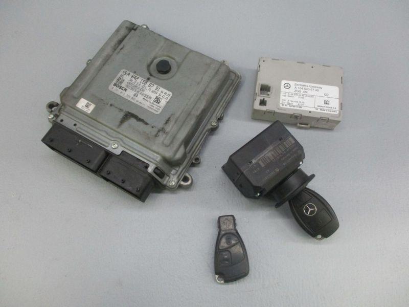 Steuergerät Motor Gateway Zündschloss SchlüsselMERCEDES R-KLASSE (W251, V251) R 320 CDI