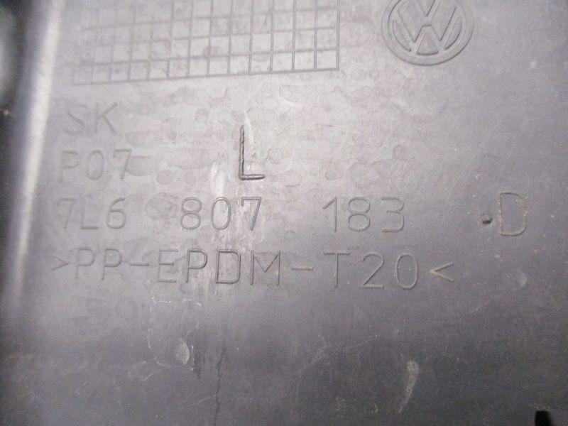 Stoßstangenbefestigung links vorn VW TOUAREG 7L 5.0 V10 TDI 06-10