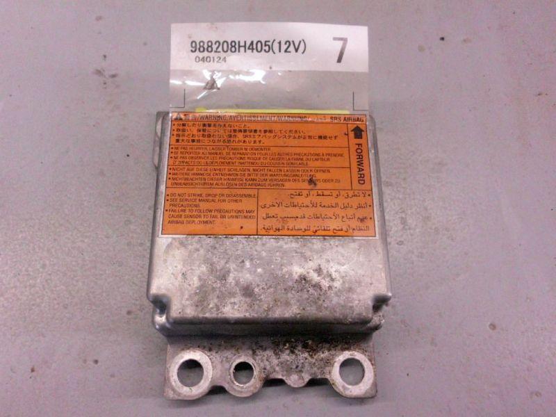 Steuergerät Airbag Airbagsteuergerät NISSAN X-TRAIL (T30) 2.2 DCI 4X4