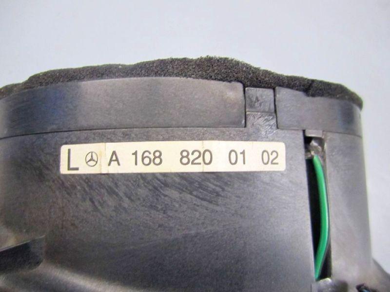 Lautsprecher Box links vorn MERCEDES-BENZ A-KLASSE (W168) A 140