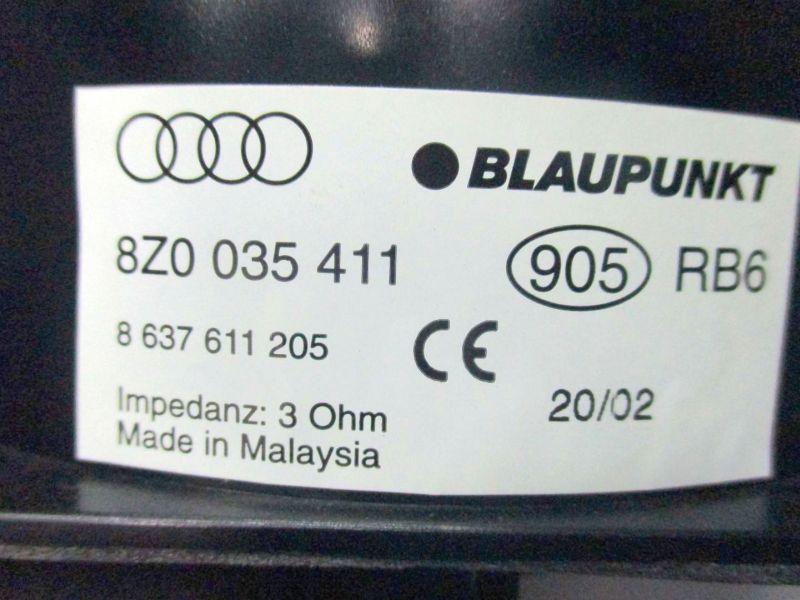 Lautsprecher Box AUDI A2 (8Z0) 1.4