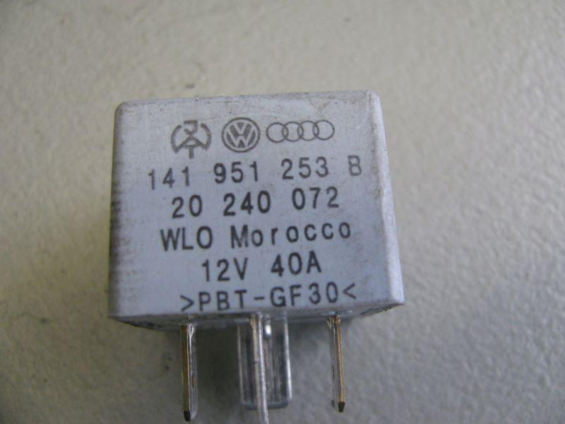 Relais Arbeitsstrom 53VW BORA KOMBI (1J6) 1.9 TDI