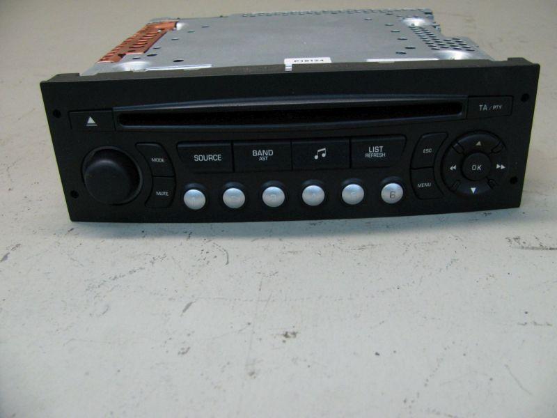 CD-Radio Autoradio CITROEN C4 PICASSO I (UD_) 1.6 HDI
