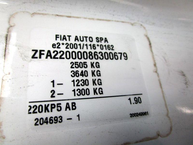 FIAT SCUDO COMBINATO (220P) 2.0 JTD