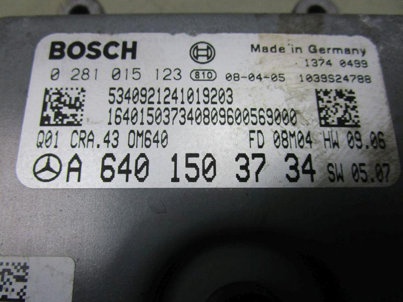 Steuergerät Motor MERCEDES B-KLASSE (W245) 180 CDI