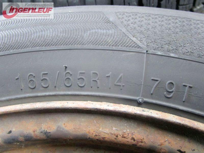 Komplettrad:165/65R14 79T Auf Felge: 5JX14 H ET48 LK4X98X58,11Satz(je4Stück)