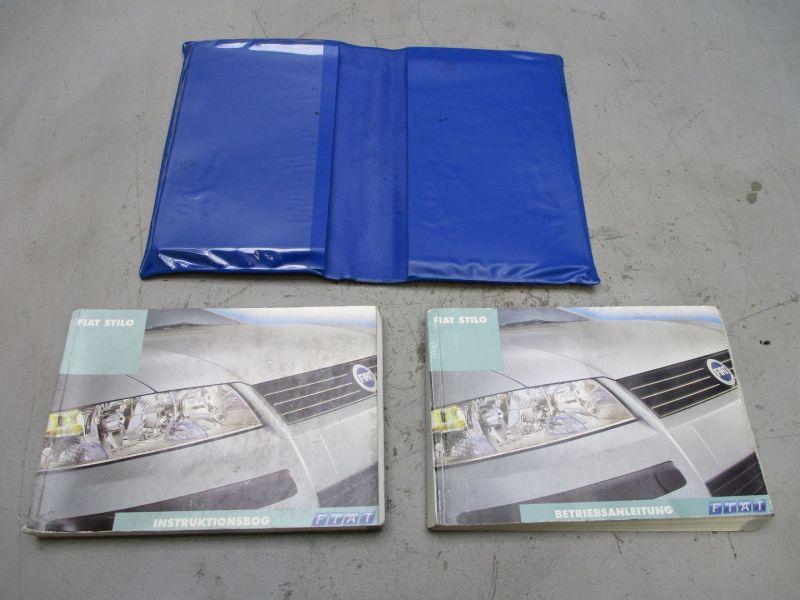 Bedienungsanleitung FIAT STILO (192) 1.8 16V