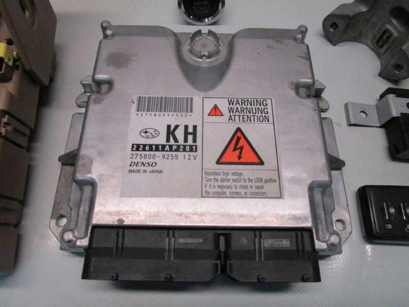 Steuergerät Motor SchließsatzSUBARU FORESTER (SH) 2.0 D AWD